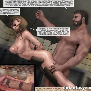 Babe got metal balls and dick inside of - BDSM Art Collection - Pic 4