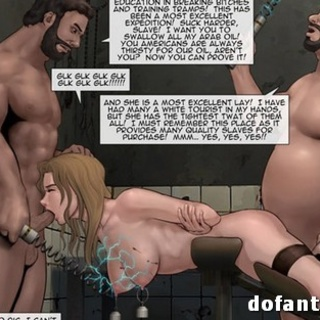 Warlords are banging the slut from the - BDSM Art Collection - Pic 1