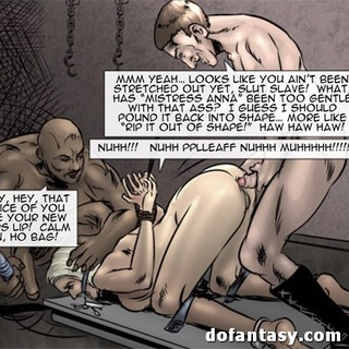 Blonde and brunette submissive laying - BDSM Art Collection - Pic 2