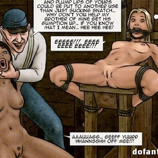 Ebony slave was forced to watch dude - BDSM Art Collection - Pic 3