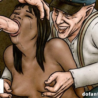 Hairy creature and man in a cap fucking - BDSM Art Collection - Pic 2