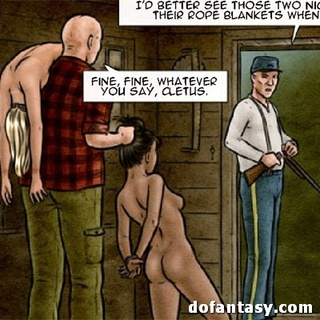 Ebony slave drilled by hairy creature - BDSM Art Collection - Pic 4