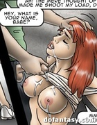 Busty vixens got covered with loads of sticky…