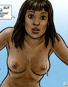 Ebony hottie trapped in the forest to become a slave. Breeders: New Blood