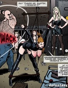 It smells with hot BDSM action in the backstage of…