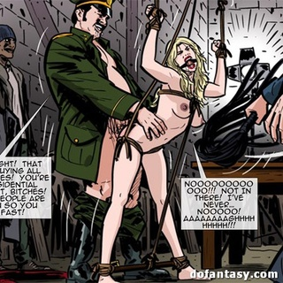 Fascinating girls are held hostage and - BDSM Art Collection - Pic 4