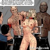 Enslaved babes tortured with whips and stun guns. Confiscated Twins 6