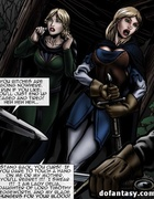 Noble toon blondie with a sword gets jeered and…