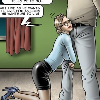 Female demonstrates that she's man's - BDSM Art Collection - Pic 1