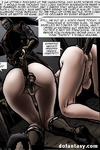 Two slave girls from Medieval toon porn get tortured with bdsm implements.