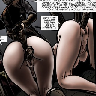 Two slave girls from Medieval toon porn - BDSM Art Collection - Pic 2
