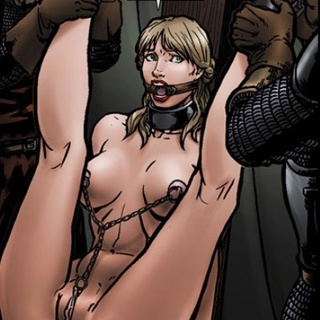 Two slave girls from Medieval toon porn - BDSM Art Collection - Pic 4