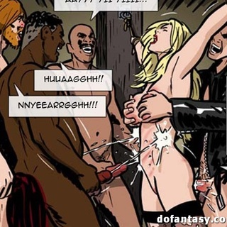 Young blonde experiences bukkakke - BDSM Art Collection - Pic 3