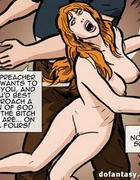 Preacher gets the pleasure with redhead and blondie. The Hotties Next