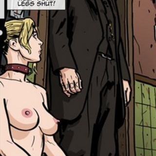 Preacher man gets in the middle of hot - BDSM Art Collection - Pic 2