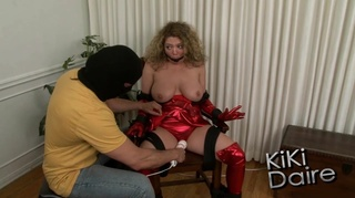 tied gagged lady natural