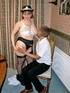 Police babe seduces a drunk dude as she sits on…