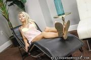 blonde teen chick spreads