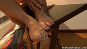 big titted blonde's feet