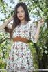 Superb firecracker ditches her floral dress under…