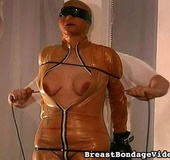 Submissive lady got caught in BDSM trap and…