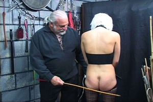 Bondaged blonde chick gets spanked hard  - XXX Dessert - Picture 7