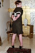 Hot short haired lady in bondage used by her master