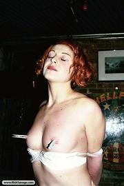 sexy redhead gal gets
