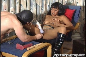 Smoking Asian got pleasured by a vibrato - XXX Dessert - Picture 11