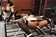 perverted housemaids organize crazy
