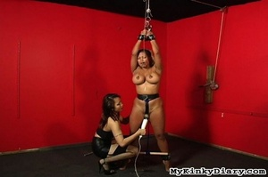 Big-boobied babe gets tortured and fucke - XXX Dessert - Picture 15