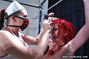 Three crazy chicks organized passionate  - XXX Dessert - Picture 13
