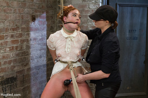 Cute redhead babe fisted and whipped in  - XXX Dessert - Picture 5