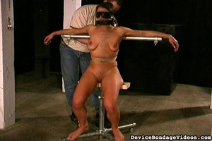 Attractive young lady gets tied up fucke - XXX Dessert - Picture 9