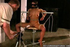 Attractive young lady gets tied up fucke - XXX Dessert - Picture 13