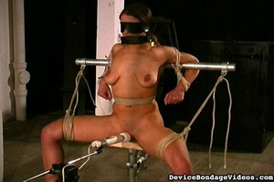 Attractive young lady gets tied up fucke - XXX Dessert - Picture 14