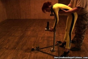 Redhead darling gets tied up and whipped - XXX Dessert - Picture 6