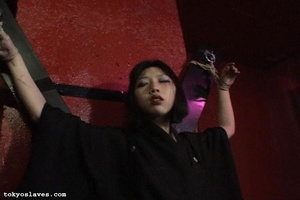 Asian slut gets tied up and humiliated i - XXX Dessert - Picture 2