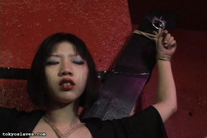 Asian slut gets tied up and humiliated i - XXX Dessert - Picture 5