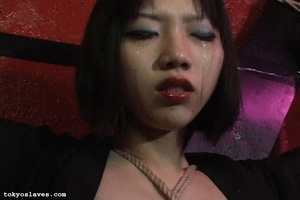 Asian slut gets tied up and humiliated i - XXX Dessert - Picture 6