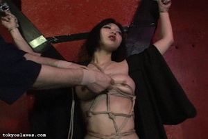 Asian slut gets tied up and humiliated i - XXX Dessert - Picture 7