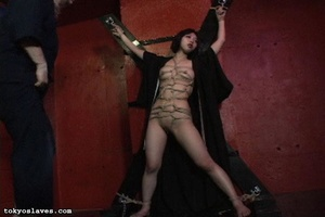 Asian slut gets tied up and humiliated i - XXX Dessert - Picture 9