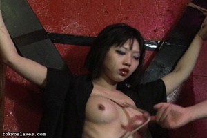 Asian slut gets tied up and humiliated i - XXX Dessert - Picture 13