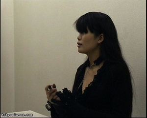 Japanese lady in bondage gets her pussy  - XXX Dessert - Picture 2