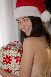 small-titted santas assistant excites
