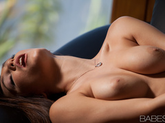 Hot brunette lady with big boobs gets screwed well - XXXonXXX - Pic 10