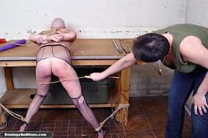 Horny bald bitch gets a really nasty can - XXX Dessert - Picture 3
