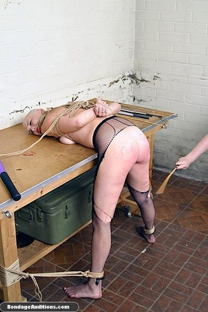 Horny bald bitch gets a really nasty can - XXX Dessert - Picture 6