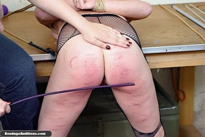 Horny bald bitch gets a really nasty can - XXX Dessert - Picture 7