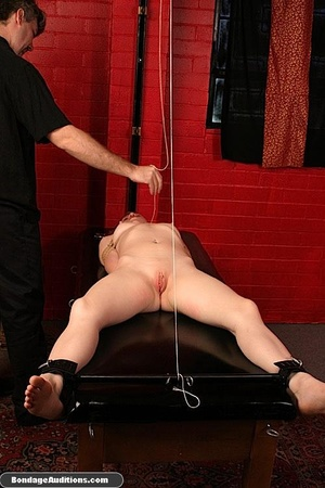 Tied up gal gets spanked and drilled wit - XXX Dessert - Picture 11